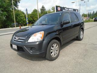 Used 2005 Honda CR-V EX AUTO AWD for sale in King City, ON