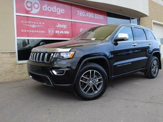 Used 2017 Jeep Grand Cherokee Limited / Sunroof / GPS Navigation / Back Up Camera for sale in Edmonton, AB