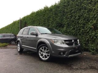 Used 2013 Dodge Journey SXT + 7 PASS + HEATED FT SEATS + POWER DRIVER SEAT + SUNROOF for sale in Surrey, BC