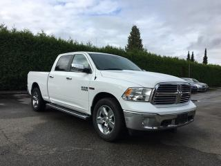 Used 2014 RAM 1500 BIG HORN **LOW KMS** + COMFORT GROUP + SUNROOF + REAR PARK ASSIST + BACK-UP CAMERA + NO EXTRA DEALER FEES for sale in Surrey, BC