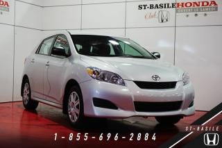 Used 2014 Toyota Matrix CONVENIENCE PACK + CRUISE + JAMAIS ACCID for sale in St-Basile-le-Grand, QC