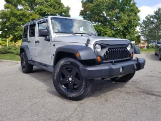 Used 2008 Jeep Wrangler Unlimited X for sale in Woodbridge, ON