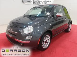 Used 2014 Fiat 500 C Lounge for sale in Cowansville, QC