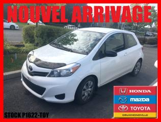 Used 2013 Toyota Yaris CE for sale in Drummondville, QC
