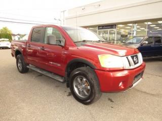 Used 2013 Nissan Titan Pro-4X for sale in Alma, QC