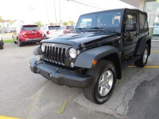 Used 2014 Jeep Wrangler SPORT for sale in Alma, QC