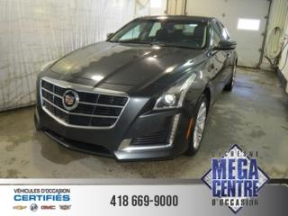 Used 2014 Cadillac CTS 4dr Sdn 2.0l Turbo for sale in Alma, QC