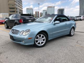 Used 2004 Mercedes-Benz CLK320 Convertible 3.2L for sale in Toronto, ON