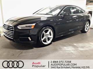 Used 2018 Audi A5 2.0 TFSI Komfort quattro S tronic for sale in Montréal, QC