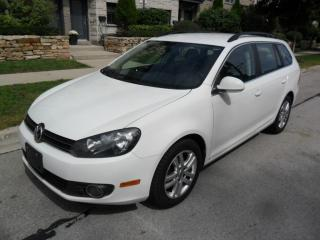 Used 2012 Volkswagen Golf TDI, AUTOM, CERTIFIED, WAGON, NO ACCIDENTS for sale in Toronto, ON