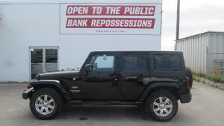 Used 2015 Jeep Wrangler Unlimited Sahara for sale in Toronto, ON