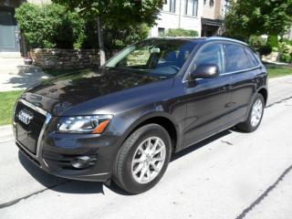 Used 2011 Audi Q5 AWD, ONE OWNER, CERTIFIED, LEATHER, A1 CONDITION for sale in Toronto, ON