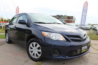 Used 2013 Toyota Corolla CE BLUETOOTH|USB|AUX for sale in Oakville, ON