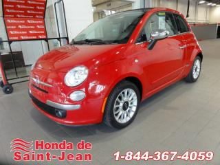 Used 2012 Fiat 500 2dr Convertible  Lounge Cuir Mags A/C for sale in St-jean-sur-richelieu, QC