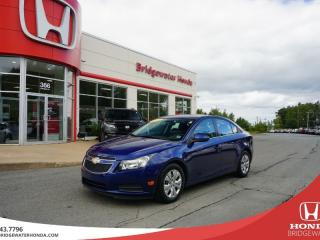 Used 2012 Chevrolet Cruze LT Turbo w/1SA for sale in Bridgewater, NS