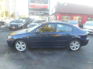 Used 2008 Mazda MAZDA3 GT/ LOADED / HEATED SEATS / ALLOYS / SUNROOF / for sale in Scarborough, ON