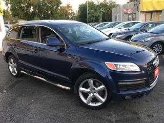 Used 2009 Audi Q7 PREMIUM/ 7 SEATER/ LEATHER/ PANORAMIC ROOF/ ALLOYS for sale in Scarborough, ON