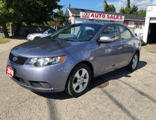 Used 2010 Kia Forte Certiifed/Automatic/Heated Seats/Bluetooth for sale in Scarborough, ON