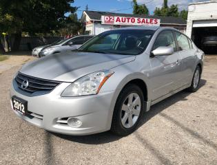Used 2012 Nissan Altima 2.5 S/Certified/Automatic/Remote Start/Gas Saver for sale in Scarborough, ON