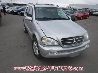 Used 2002 Mercedes-Benz ML 550 4D UTILITY 4WD for sale in Calgary, AB