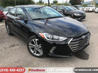 Used 2018 Hyundai Elantra GLS | 1 OWNER | LEATHER | ROOF | CAM for sale in London, ON