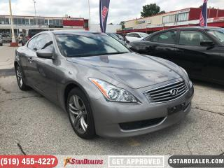 Used 2009 Infiniti G37 X Premium | NAV | LEATHER | ROOF for sale in London, ON