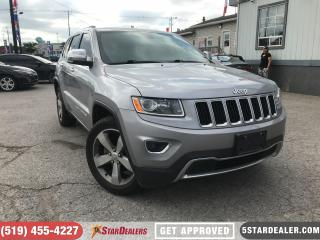 Used 2015 Jeep Grand Cherokee Limited | LEATHER | NAV | CAM for sale in London, ON