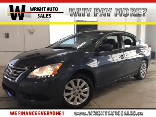 Used 2013 Nissan Sentra S|LOW MILEAGE|KEYLESS ENTRY|86,707 KMS for sale in Cambridge, ON