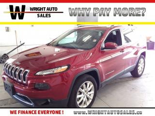 Used 2016 Jeep Cherokee Limited|MOON ROOF|NAVIGATION|LEATHER|49,002 KMS for sale in Cambridge, ON