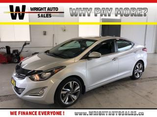 Used 2015 Hyundai Elantra Limited|SUNROOF|LEATHER|BLUETOOTH|22,075 KM for sale in Cambridge, ON