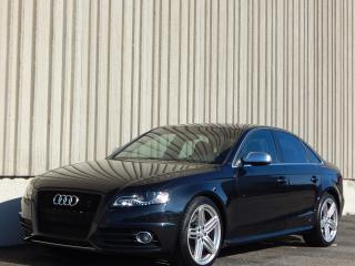 Used 2010 Audi S4 - for sale in Etobicoke, ON