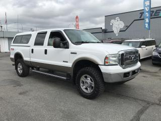 Used 2005 Ford F-350 Super Duty Lariat FX4 4WD 6.0L DIESEL EGR DELETE for sale in Langley, BC