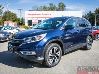 Used 2015 Honda CR-V Touring, Factory Warranty Until 2022 for sale in Port Moody, BC