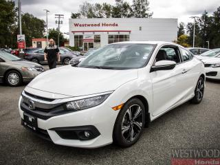 Used 2017 Honda Civic Touring, Factory Warranty Until 2024 for sale in Port Moody, BC