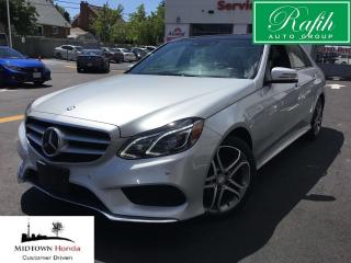 Used 2014 Mercedes-Benz E-Class 4MATIC Sedan for sale in North York, ON