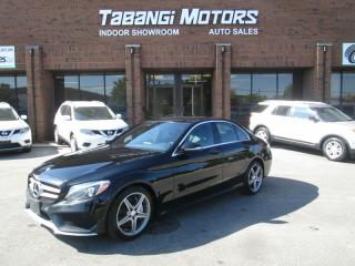 Used 2015 Mercedes-Benz C 300 AMG | NO ACCIDENTS | LEATHER | 4MATIC | for sale in Mississauga, ON