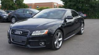 Used 2011 Audi A5 PREMIUM PLUS * S-LINE * NAVI * PUSH START * CAMERA for sale in Woodbridge, ON
