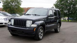 Used 2008 Jeep Liberty 4WD * 6 SPEED MANUAL * FINANCING AVAILABLE for sale in Woodbridge, ON