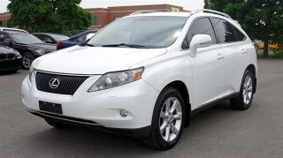 Used 2010 Lexus RX 350 AWD * NAVI * LEATHER * SUNROOF for sale in Woodbridge, ON