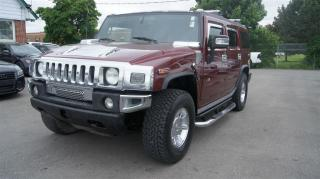 Used 2005 Hummer H2 LEATHER * SUNROOF * NAVI for sale in Woodbridge, ON