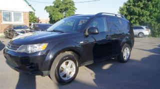 Used 2008 Mitsubishi Outlander FWD * 2.4L * BLUETOOTH *  FINANCING AVAILABLE for sale in Woodbridge, ON