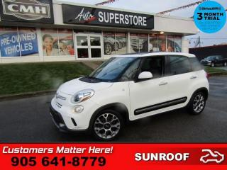 Used 2014 Fiat 500 L Trekking  MANUAL ROOF CAMERA HEATED SEATS POWER GROUP for sale in St. Catharines, ON