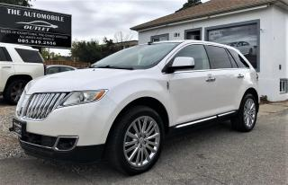 Used 2011 Lincoln MKX AWD NO ACCIDENT BACK-UP CAM LEATHER for sale in Mississauga, ON