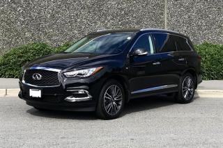 Used 2017 Infiniti QX60 AWD Infiniti Certified! for sale in Vancouver, BC