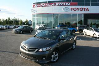 Used 2013 Toyota Corolla S for sale in St-eustache, QC