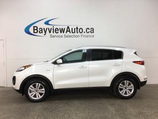 Used 2018 Kia Sportage EX - ALLOYS! HTD SEATS! REVERSE CAM! BLUETOOTH! for sale in Belleville, ON