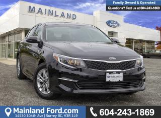 Used 2018 Kia Optima LX+ *LOCALLY DRIVEN* for sale in Surrey, BC