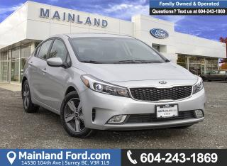 Used 2018 Kia Forte LX *ACCIDENT FREE* *LOCALLY DRIVEN* for sale in Surrey, BC