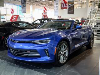 Used 2018 Chevrolet Camaro 2LT, 6SPD TAPSHIFT LEATHER, CONVERTIBLE, RS for sale in Ottawa, ON