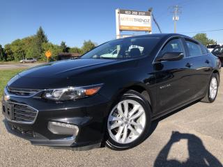 Used 2017 Chevrolet Malibu 1LT Pwr Seat, BackupCam and Bluetooth! Also Pwr Windows, Alloys and Keyless Entry! for sale in Kemptville, ON